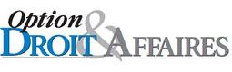 logo option droit et affaires